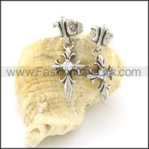 Fashion Stainless Steel Stone Earrings   e000658