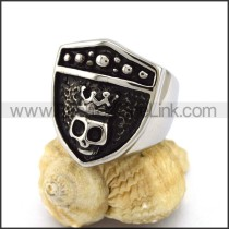 Exquisite Stainless Steel Skull Ring r002899