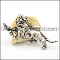 Vivid Stainless Steel Animal Pendant    p001807