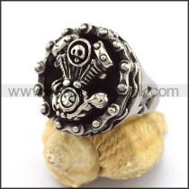 Good Selling Stainless Steel Biker Ring  r002960