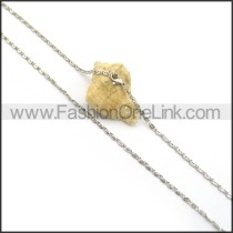 Exquisite Interlocking Small Chain n000997
