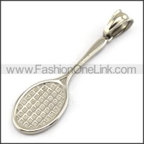 Delicate Stainless Steel Casting Pendant   p003390