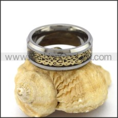 Elegant Stainless Steel Ring r003108