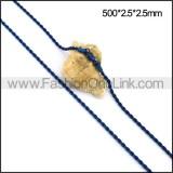 Unique Blue Plated Necklace n001111