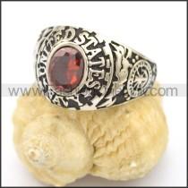 Vintage Stone Ring  r002764
