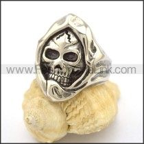 Unique Stainless Steel Skull Ring  r002711