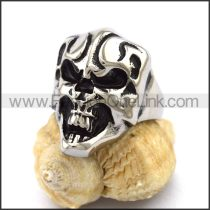 Unique Stainless Steel Skull Ring  r003215