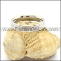 Elegant Stainless Steel Ring r002590