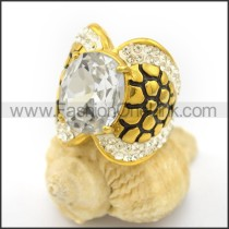 Graceful Popular Stainless Steel Ring  r002655
