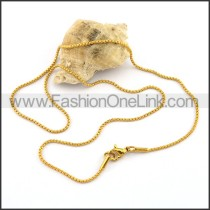 Graceful Gold Plated Necklace n001043