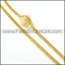 Delicate Golden Plated Necklace    n000259