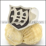 Fashion Stainless Steel Casting Ring   r002362