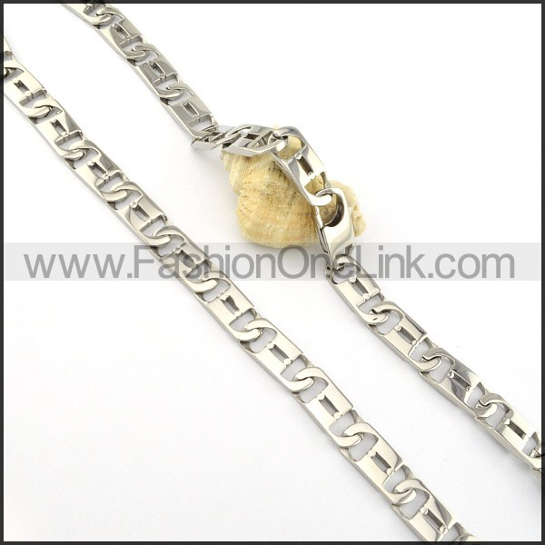 Chic Stamping Necklace   vn000325