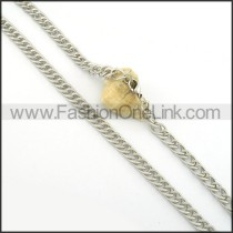 Delicate Stamping Necklace   n000408