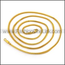Golden Plated Neckalce n001204