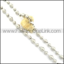 Delicate Coil Fashion Necklace   n000483