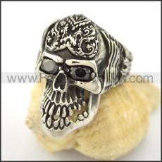 Dlicate Skull Ring r001570