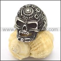 Stainless Steel Skull Ring r002098