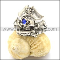 Unique Stainless Steel Skull Ring r002121