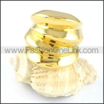 Stainless Steel Plated Ring r000128