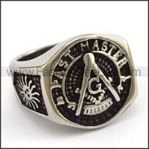 Delicate  Stainless Steel Casting Ring   r003403