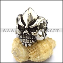 Stainless Steel Skull Ring  r003241