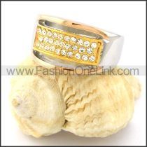 Stainless Steel Beautiful Stone Ring r000788