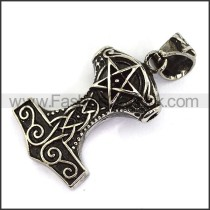 Delicate Stainless Steel Casting Pendant   p003634