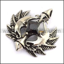 Delicate Stainless Steel Casting Pendant   p003675