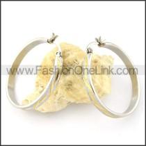 Delicate Stainless Steel Plating Earrings   e000546