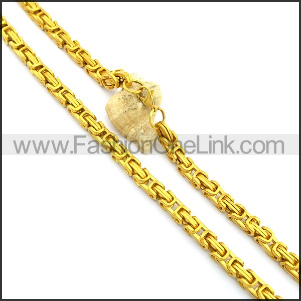 Gold Plated Necklace n000992