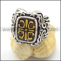 Vintage Stainless Steel Casting Ring r001902