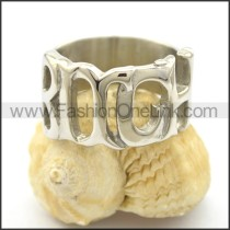 Unique Delicate Stainless Steel Ring r001828