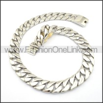 Delicate Silver Stamping Necklace n000709