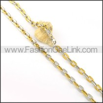 Golden Plated Necklace    n000218