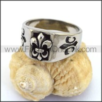 Unique Stainless Steel Casting Ring  r003052