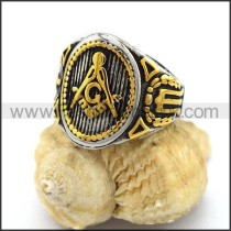 Exquisite Stainless Steel Casting Ring r003147