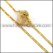 Elegant Gold Plated Necklace n001047