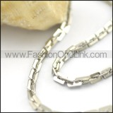 Chic Rectangle Small Chain n000919