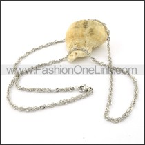 Exquisite Silver Small Chain     n000380