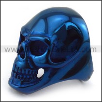 Exquisite Stainless Steel Skull Ring r003586