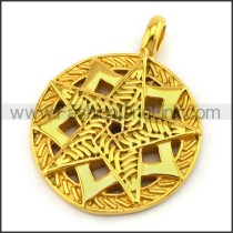 Delicate Stainless Steel Plating Pendant  p003064