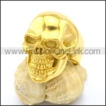 Wicked Stainless Steel Skull Ring  r002609