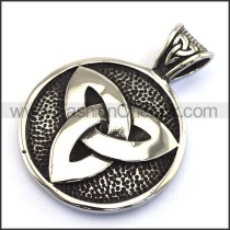 Delicate Stainless Steel Casting Pendant   p003038