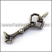 Delicate Stainless Steel Casting Pendant   p003036