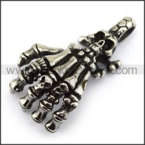 Exquisite Stainless Steel Casting Pendant   p003994
