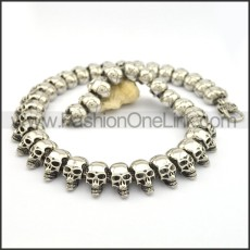 Delicate Skull Necklace n000746