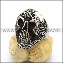 Unique Stainless Steel Skull Ring  r003201