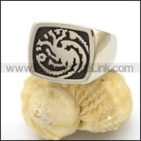Stainless Steel Casting Ring   r002743