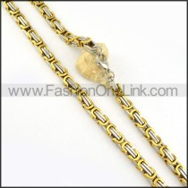 Golden Plated Necklace  n000152